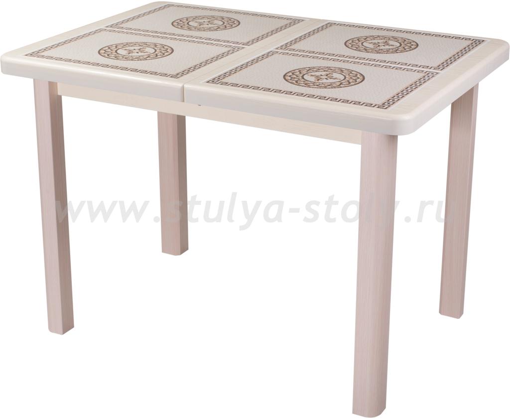 Стол обеденный Шарди ПР ВП КР 04 МД пл52 (кремовый)