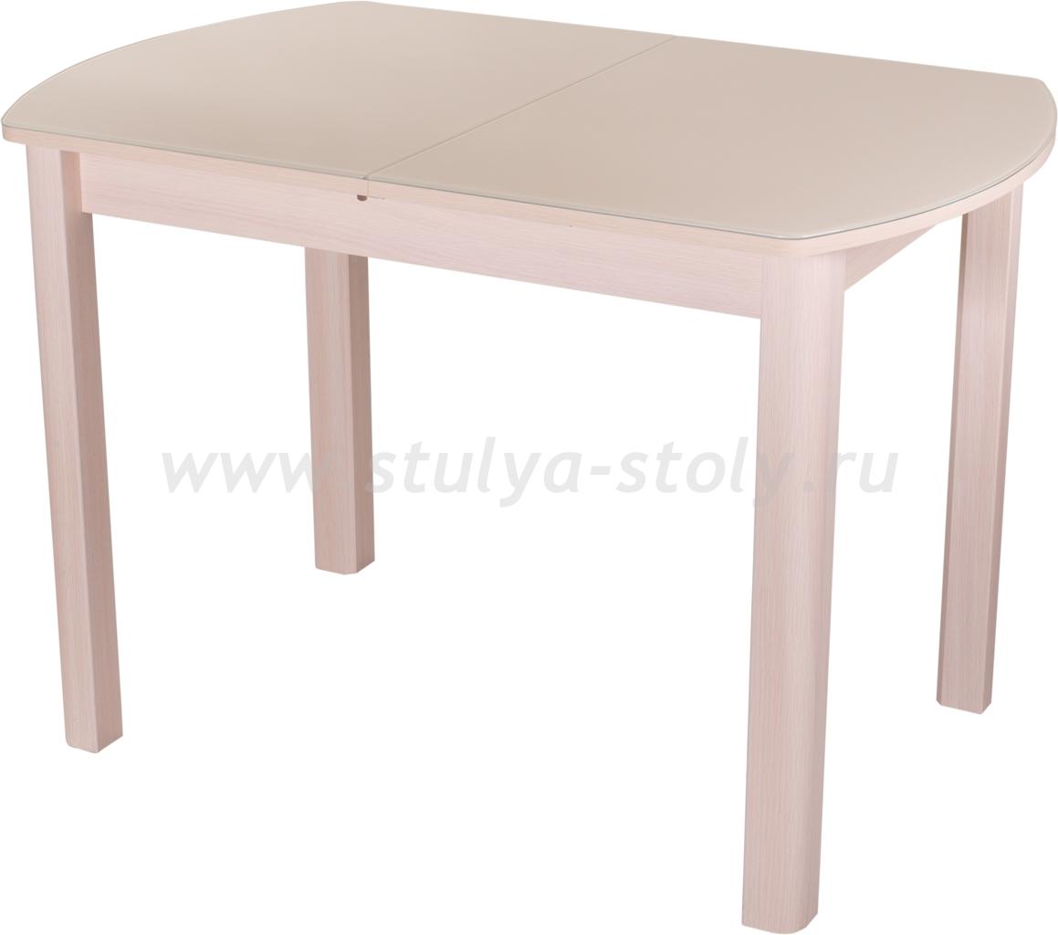Стол обеденный Гамма ПО-1 МД ст-КР 04 МД (молочный дуб)