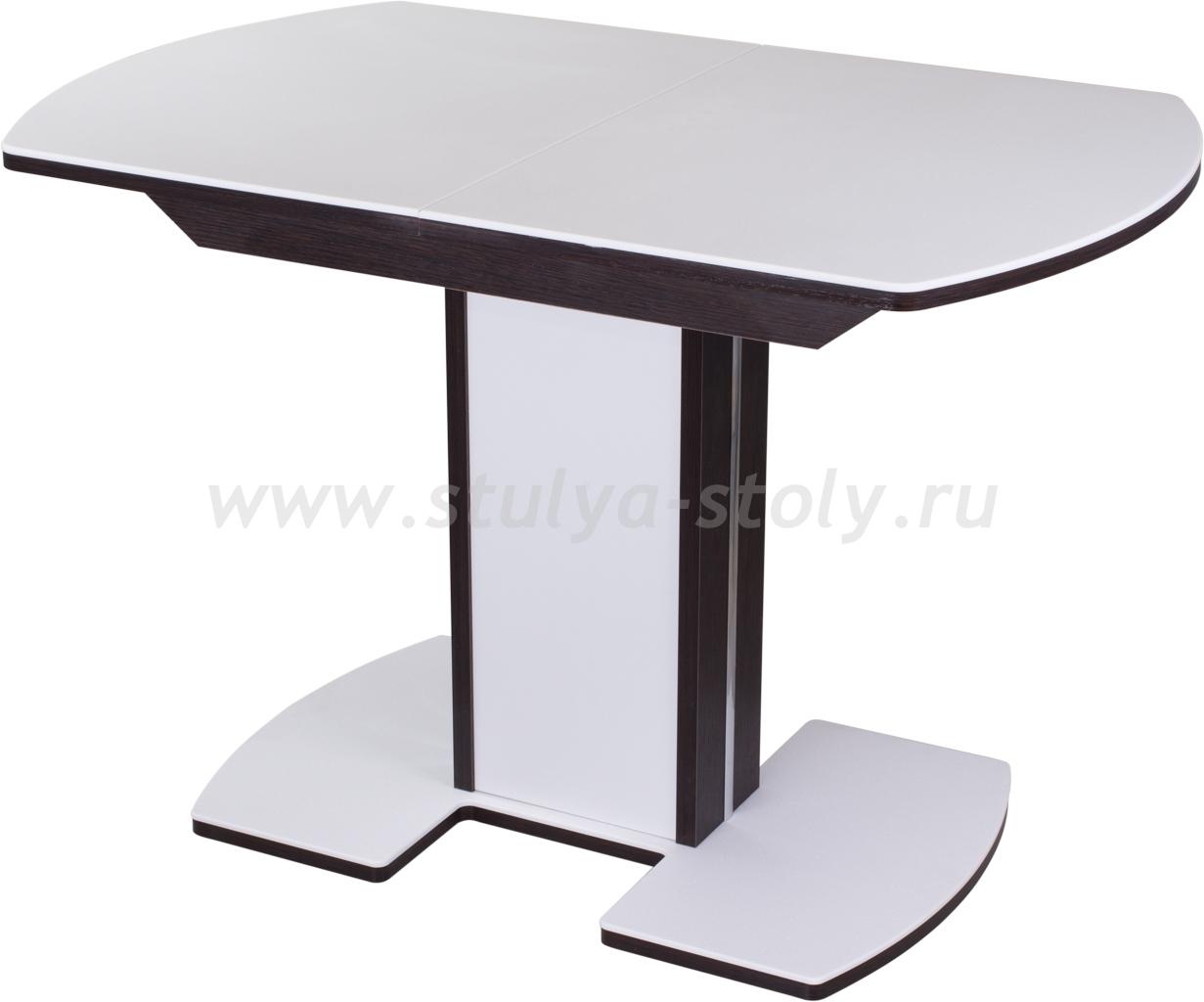 Стол обеденный Альфа ПО-1 КМ 04 (6) ВН 05-1 ЛДСП ВН/БЛ КМ 04 венге