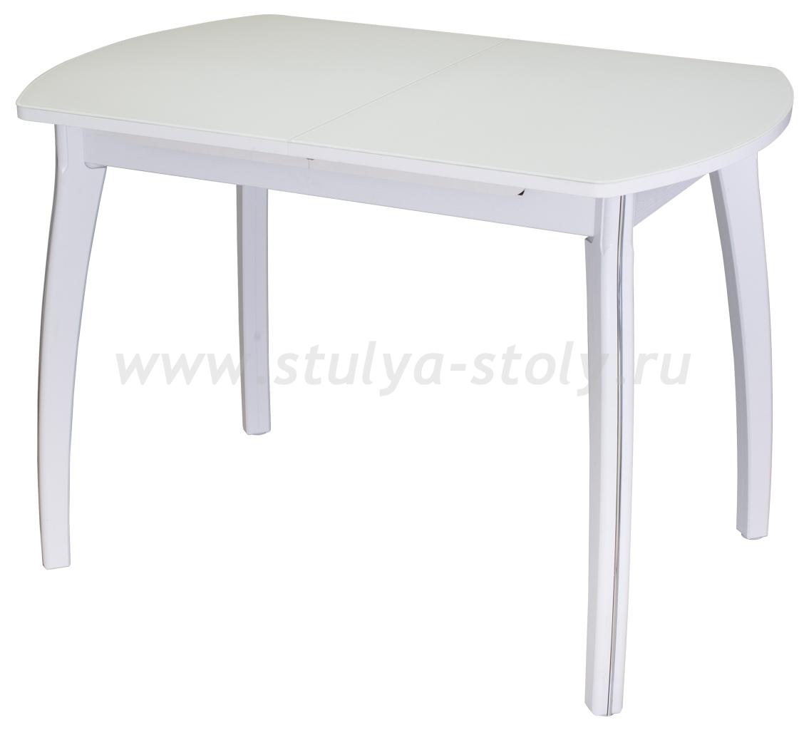 Стол кухонный Чинзано ПО БЛ ст-БЛ 07 ВП БЛ (белый)