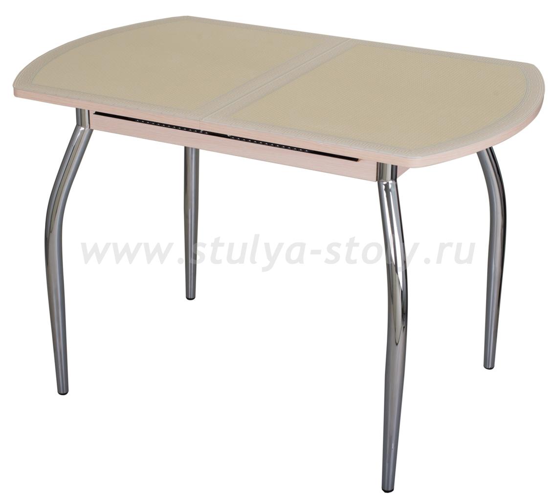 Стол кухонный Чинзано ПО МД ст-21 F-1 01 молочный дуб