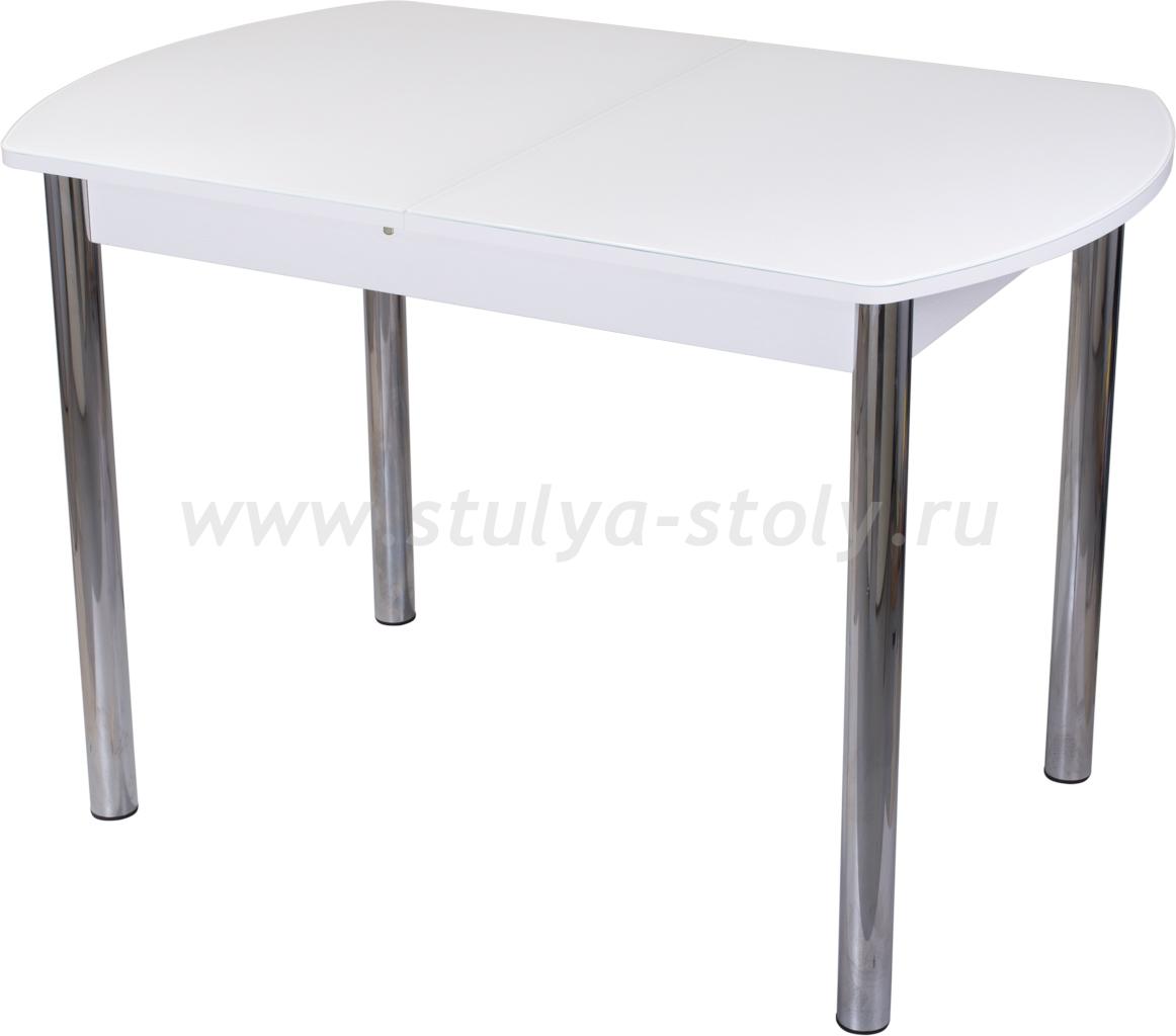 Стол обеденный Гамма ПО-1 БЛ ст-БЛ 02 (белый)