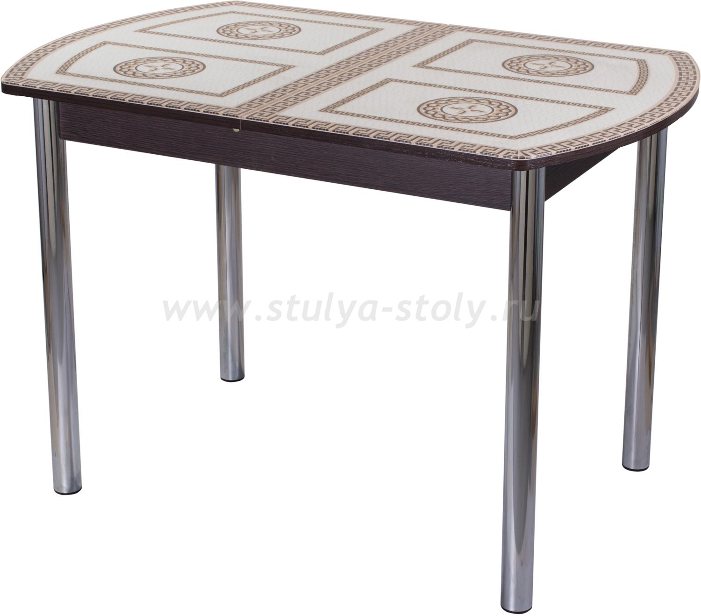 Стол обеденный Гамма ПО-1 ВН ст-71 02 (венге с греческим орнаментом)
