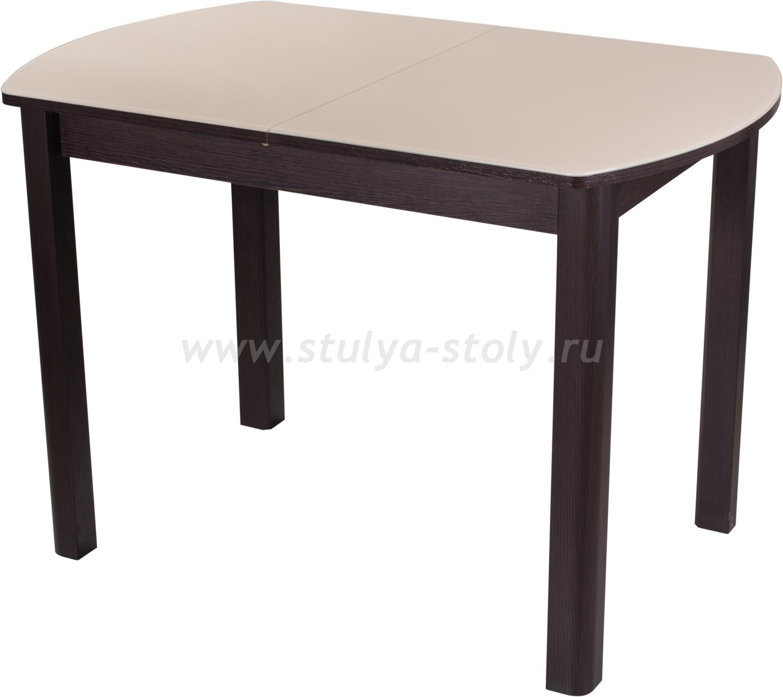 Стол обеденный Гамма ПО-1 ВН ст-КР 04 ВН (кремовый с венге)