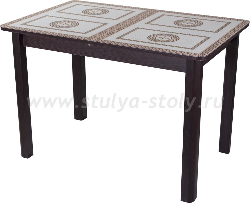 Стол обеденный Гамма ПР ВН ст-71 04 ВН (венге с греческим орнаментом)