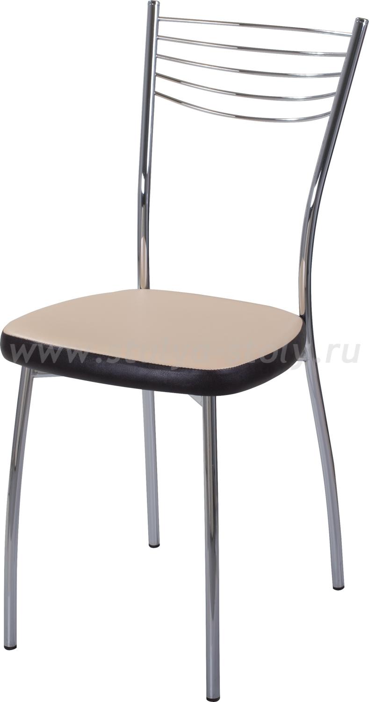 Стул кухонный Омега-1 В-1/В-4 бежевый/венге, повышенной комфортности