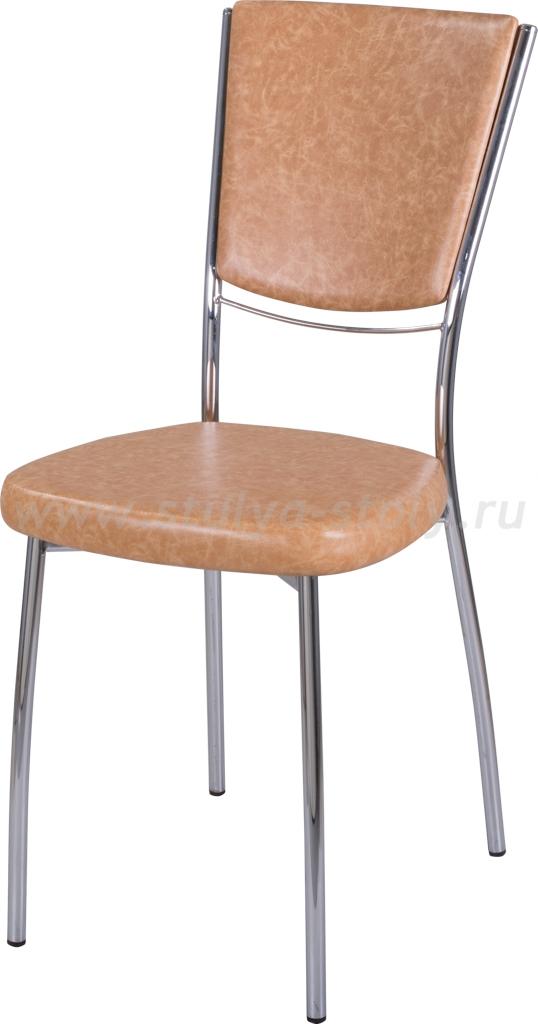 Стул кухонный Омега-5 В-2/В-2 спВ-2/В-2 светло-коричневый, повышенной комфортности