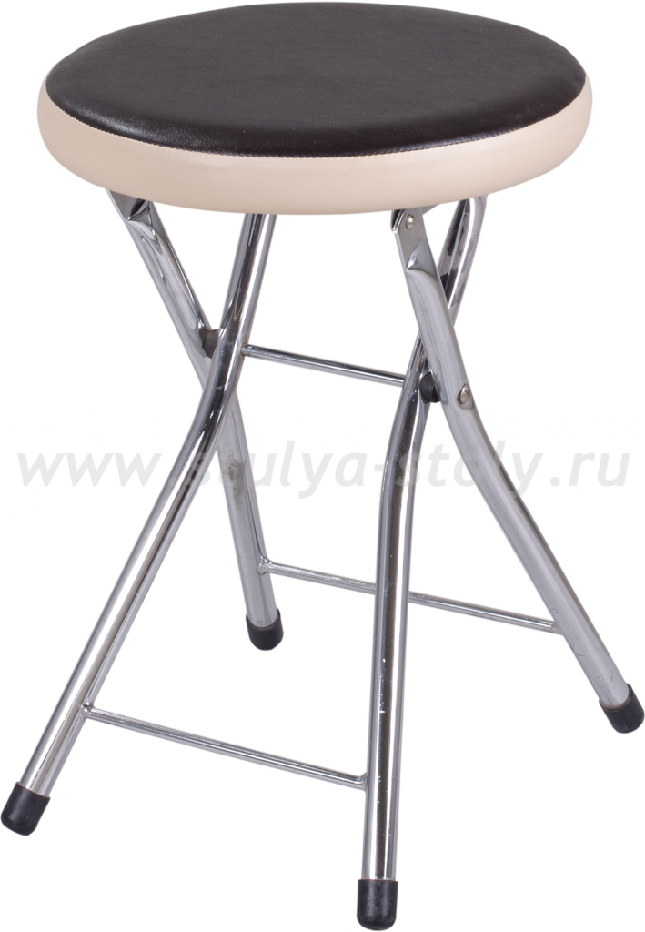 Кухонный табурет Соренто В-4/В-1 черный венге/бежевый, повышенной комфортности