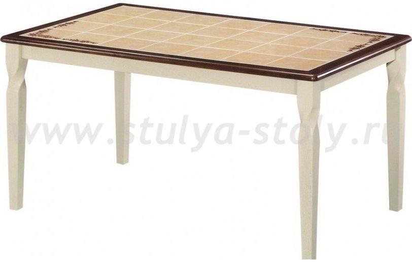 Стол обеденный СТ 3760Р LEG D Эмир (крем)