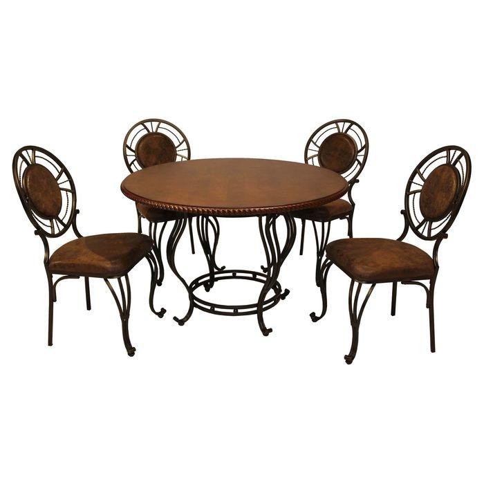 Стол обеденный из столовой группы MK-4800 (темный орех)