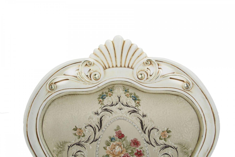 Стул для классического интерьера Maris с подлокотниками (беленый дуб)