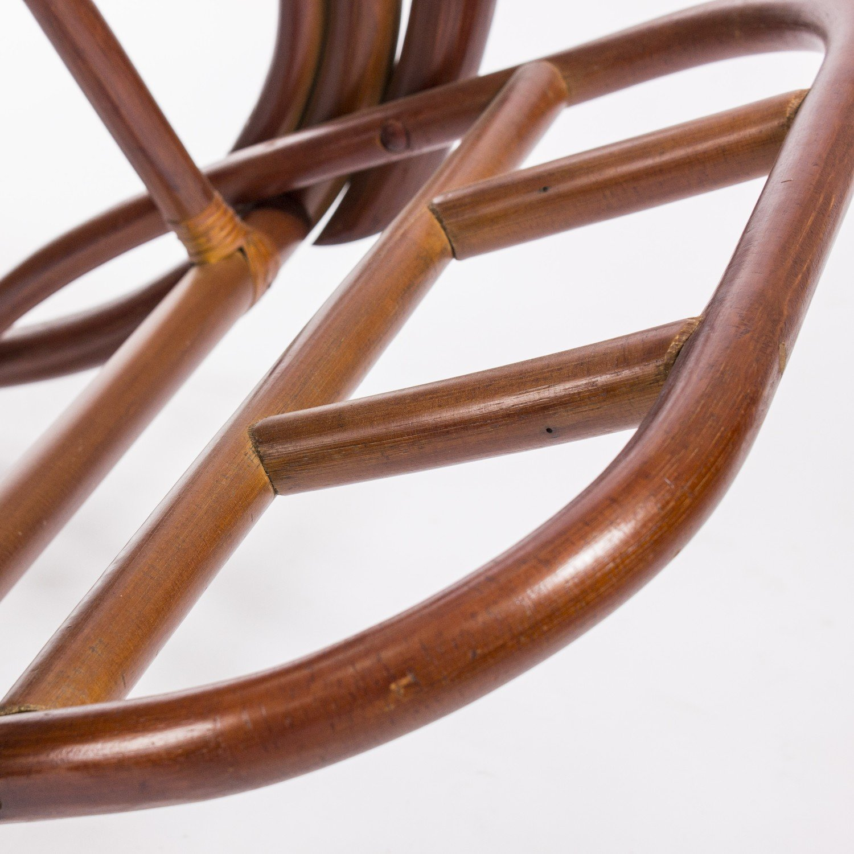 Кресло-качалка CLASSIC с подушкой (серый)