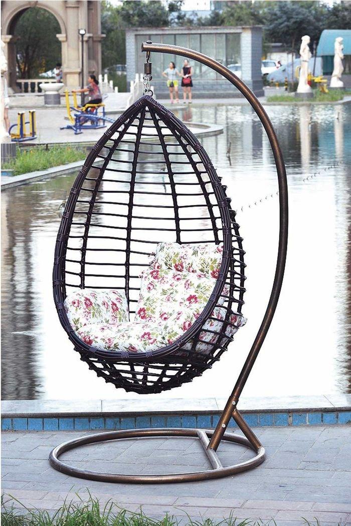 Кресло подвесное (коричневый)