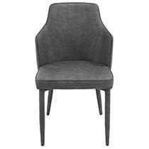 Комфортный стул с мягкой обивкой MK-5633-GR (серый)