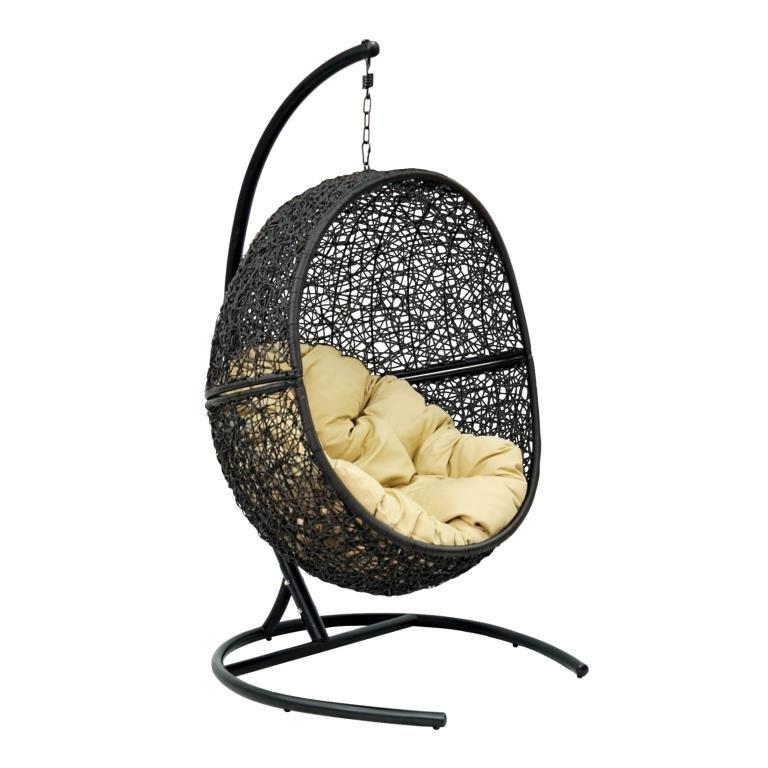 Подвесное кресло LUNAR (175) (светло-бежевый)