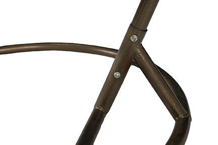 Кресло подвесное оранжевое (коричневый)