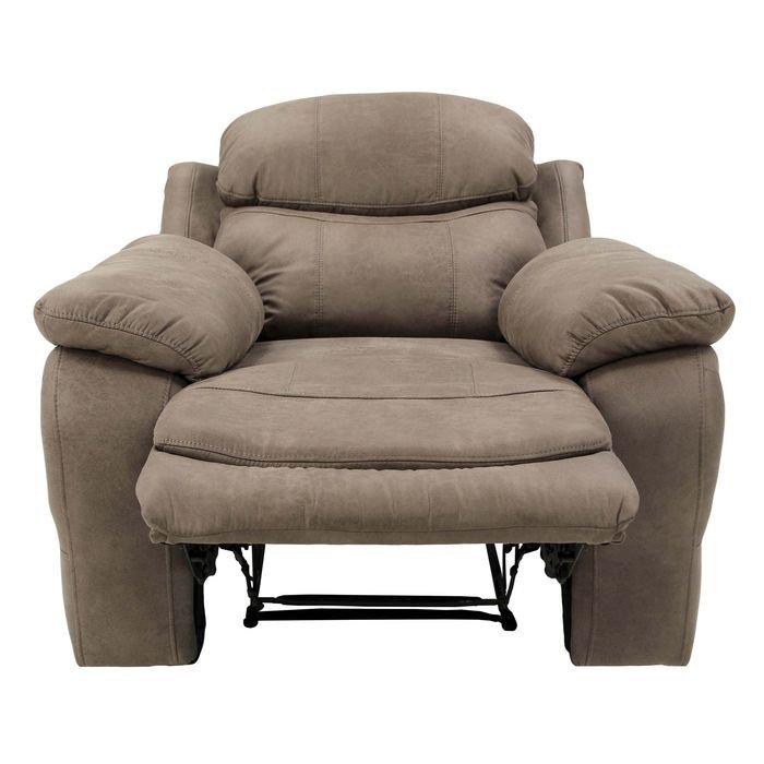 Кресло реклайнер  (кофейный)