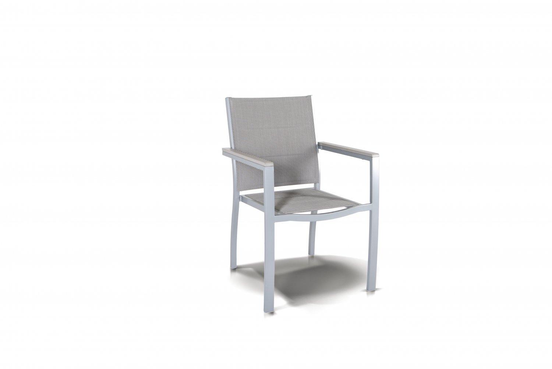 """""""Овьедо"""" стул с подлокотниками, цвет серый"""
