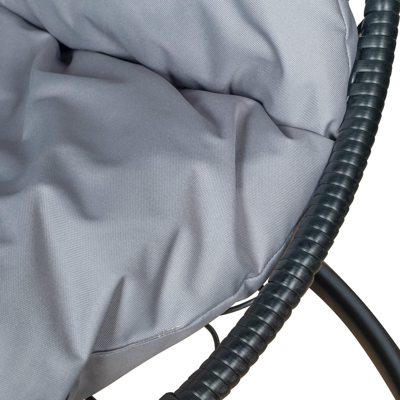 Подвесное кресло LESET ЛУНА (светло-серый)