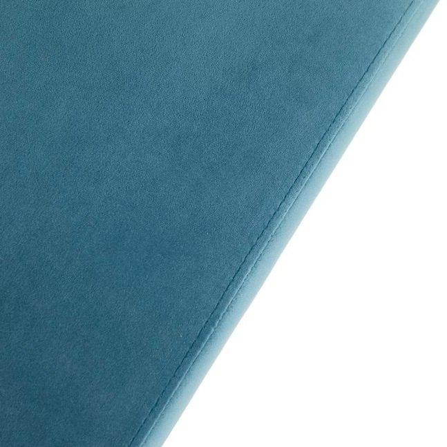 Скамья с велюровой обивкой J-G-902  (синий)