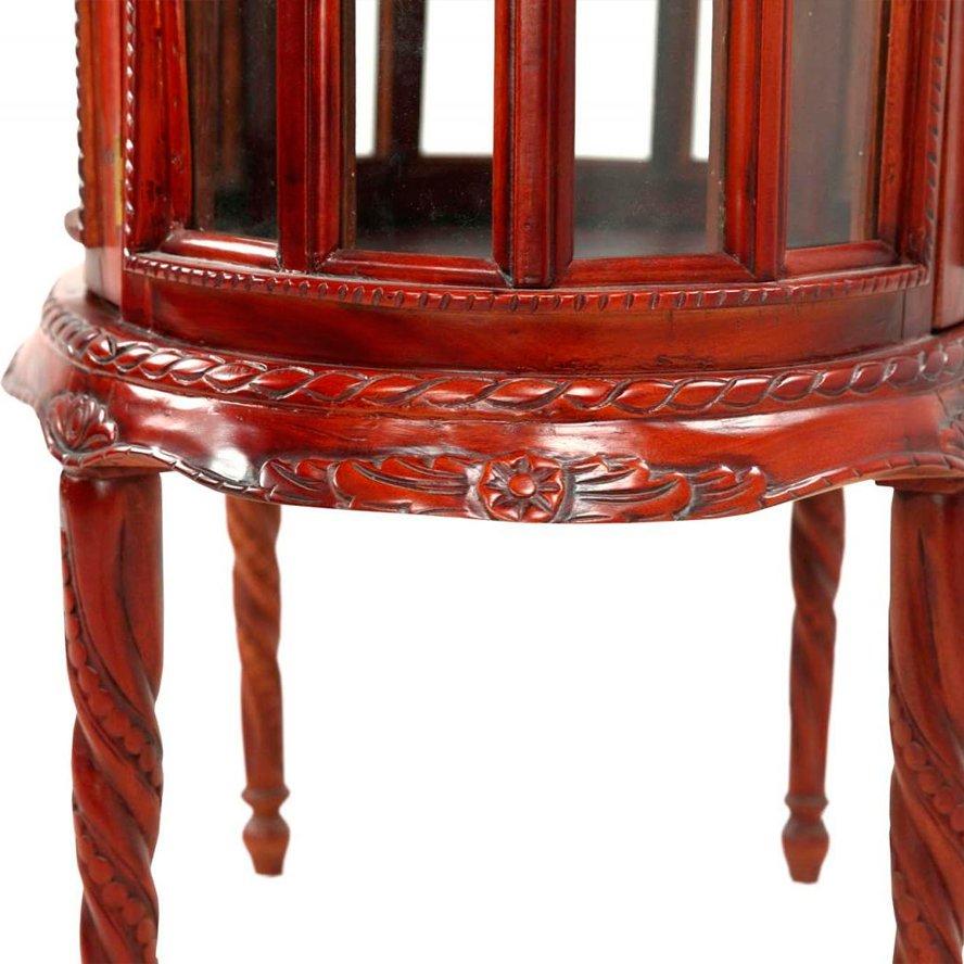 Чайный столик из красного дерева (вишня)