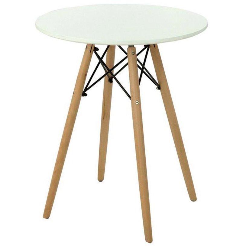 Стол круглый обеденный DT-902-2 Mesa  (белый)