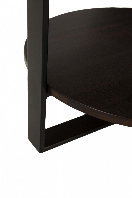 Столик чайный для современного интерьера (темный орех)