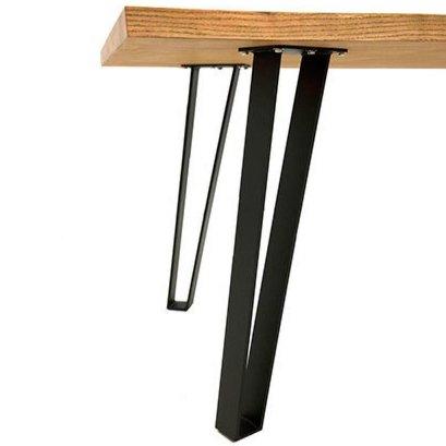 Обеденный стол в современном стиле MV69 (натуральное дерево)