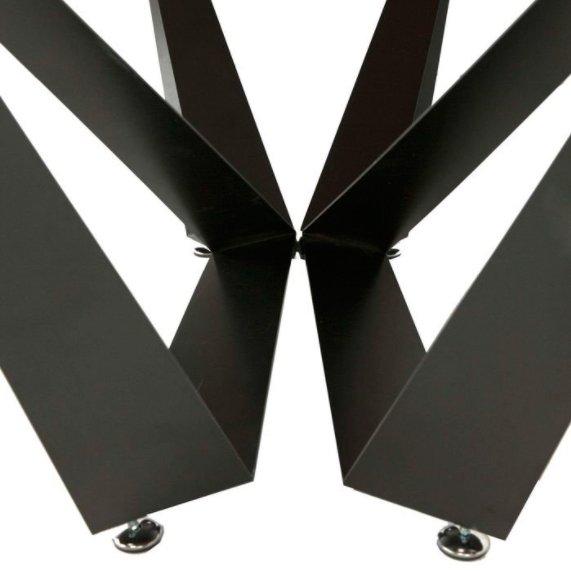 Стол обеденный нераскладной в стиле лофт MV67  (грецкий орех)