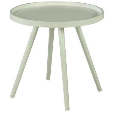 Столик кофейный для интерьера в современном стиле (белый)