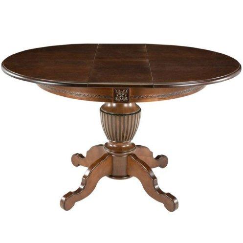 Стол обеденный раскладной Бонд-1 (темный орех)