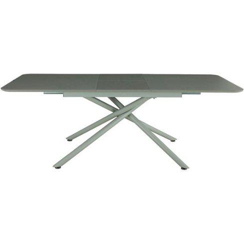 Стол обеденный раскладной DT2280 (серый)