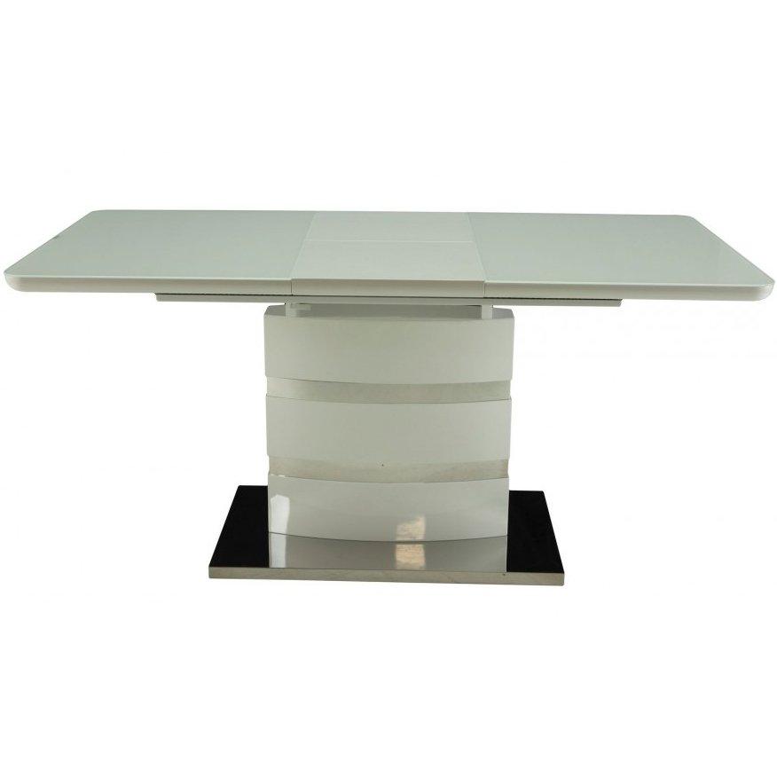 Стол обеденный раскладной DT-115 Abilin (белый)