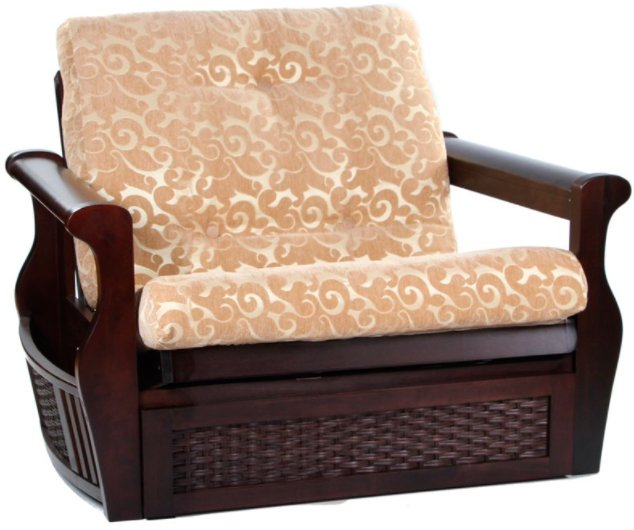 Кресло с ящиком для белья  (венге)