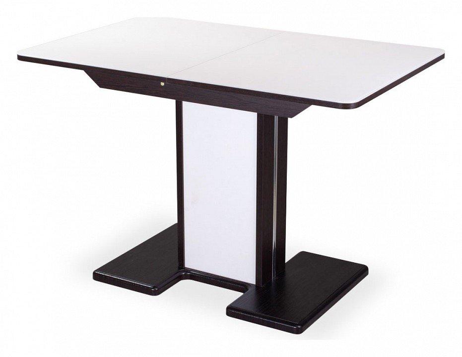 Стол обеденный Танго ПР-1 со стеклом (белый)
