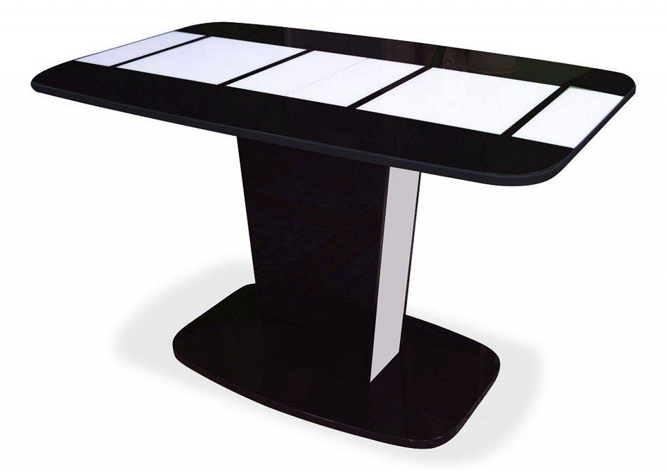Стол обеденный Домино (белый)