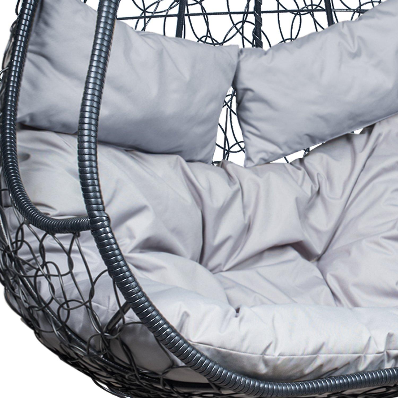 Подвесное кресло LESET РИКО (светло-серый)