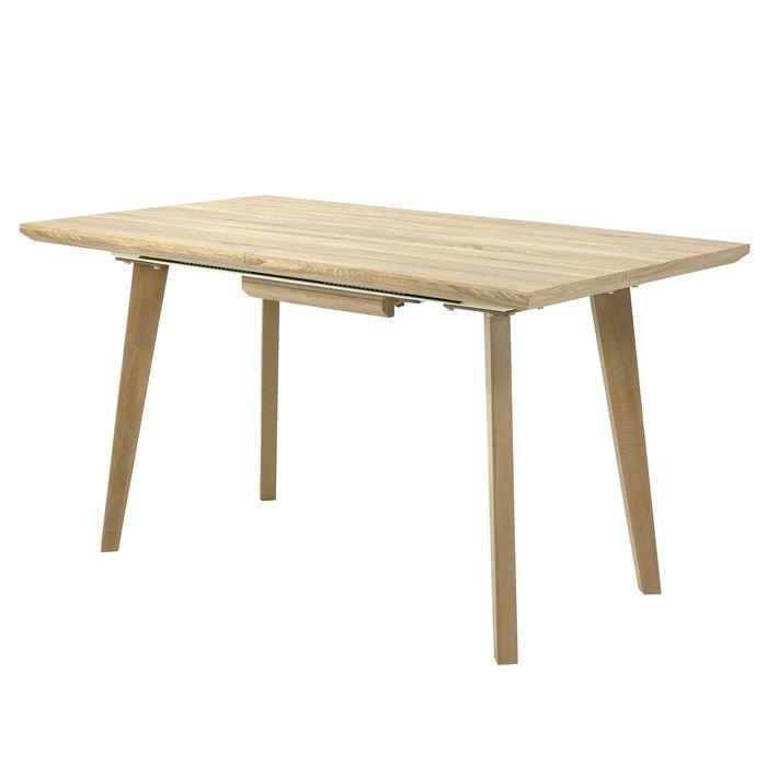 Стол обеденный раскладной DT-9125  (светлое дерево)