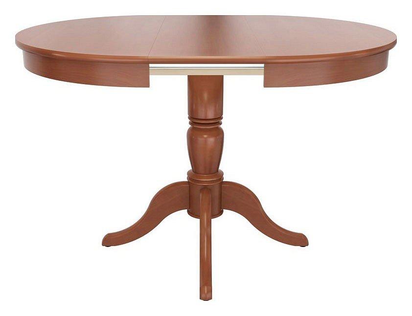 Стол обеденный круглый раскладной Фламинго 01.01 вишня