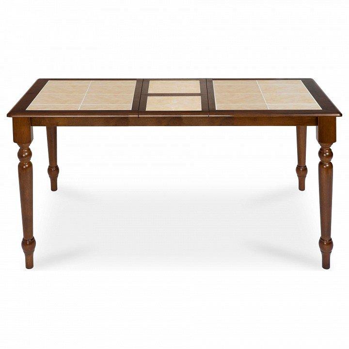 Стол обеденный раскладной со столешницей из керамики CT 2950T (бежевый)