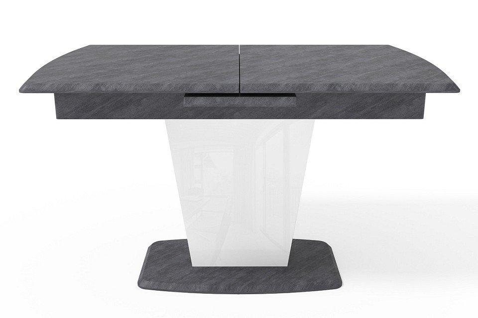 Стол обеденный раскладной (серый)
