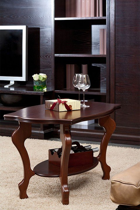 Стол журнальный Берже 1 (коричневый)