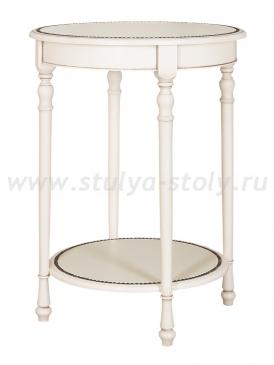 Стол сервировочный Венеция ДК (белая эмаль)