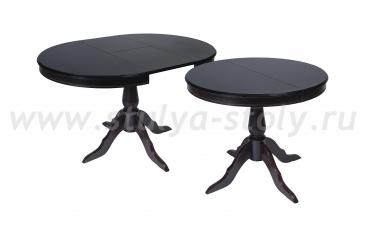 Стол обеденный Эдельвейс К 900 из массива