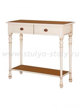 Стол консольный Венеция-3/1 ДК (белая эмаль)