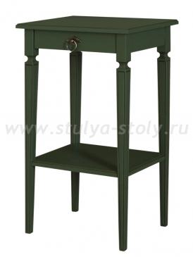 Стол Бемоль-2 (RAL6003 с патиной темный орех)