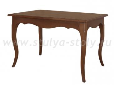 Обеденный стол Хельга - 1 (Орех с шоколадной патиной)