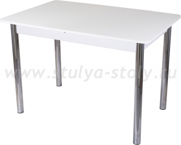 Стол обеденный Гамма ПР-1 БЛ ст-БЛ 02 (белый)