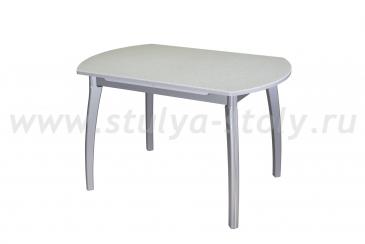 Стол обеденный Реал ПО-1 КМ 07 (6) СР 07 ВП СР серый