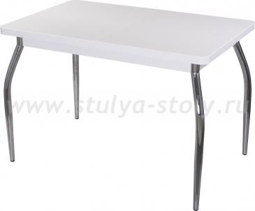 Стол обеденный Реал ПР-1 КМ 04 (6) БЛ 01 белый